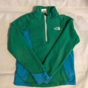 Girls The North Face fleece pullover